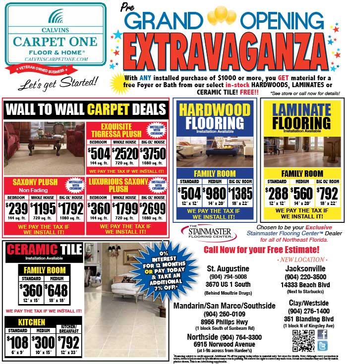 Big Flooring Sales And Coupons At Calvins Carpet One
